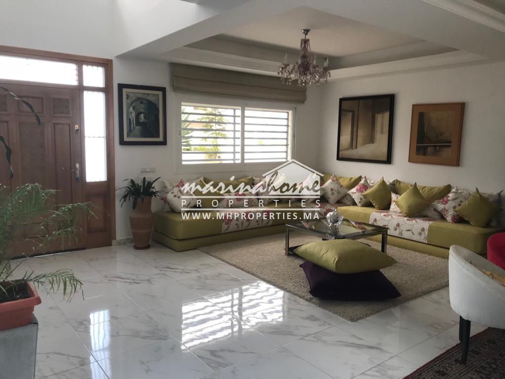 (W0017) Villa bien meublée à M'diq