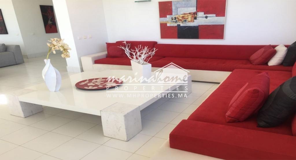 (VL0040) Villa de luxe à Marina Smir pour location longue durée