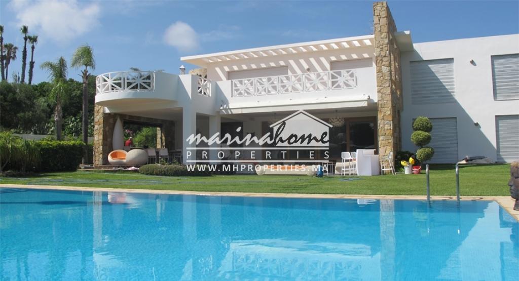 Villa de luxe à Cabo Negro avec piscine privée